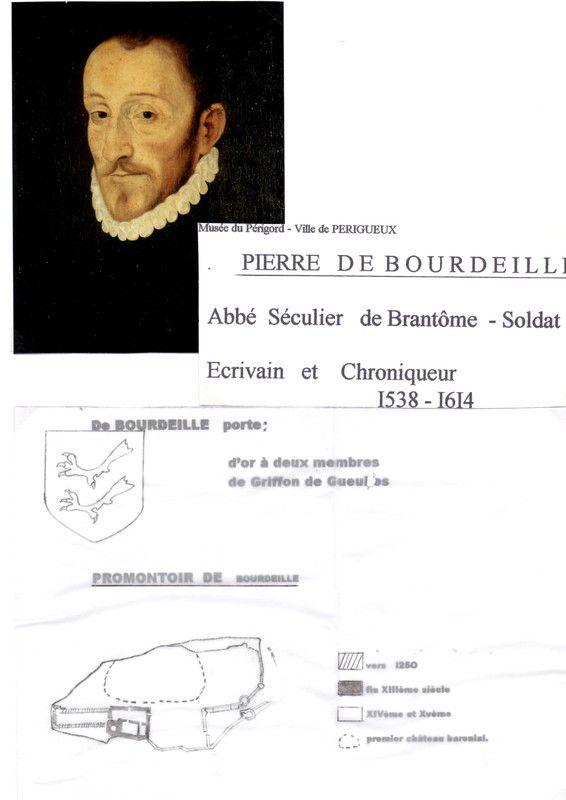 "PIERRE DE BOURDEILLE DIT ""BRANTÔME"""