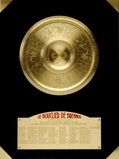LE BOUCLIER DE BRENNUS! SON HISTOIRE? ET SES ORIGINES...